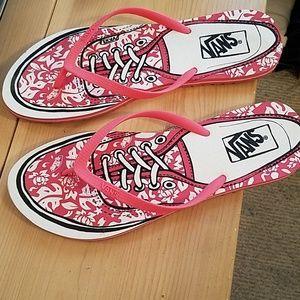 Van's Off The Wall Flip Flop Sandals